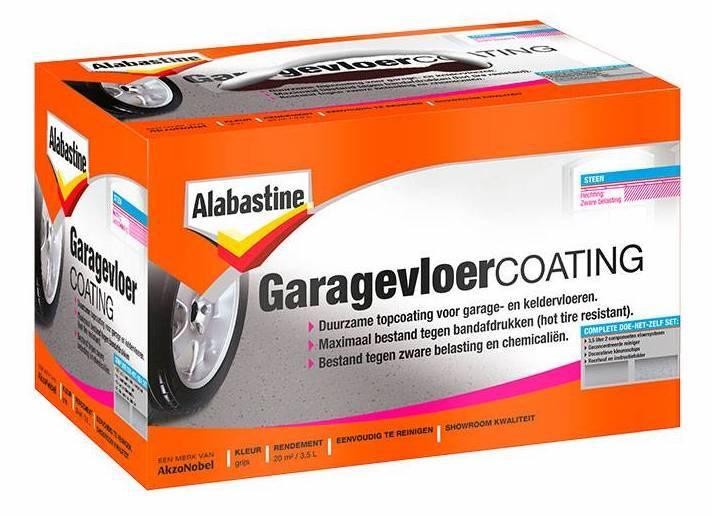 Alabastine garagevloer coating